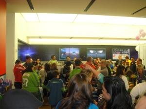 Jugadores latinos de Sounders FC en el evento
