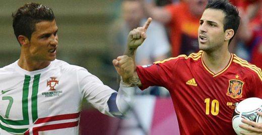 Cristiano Ronaldo vs Cesc Fábregas