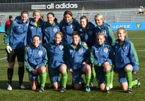 Sounders Women pre-temporada
