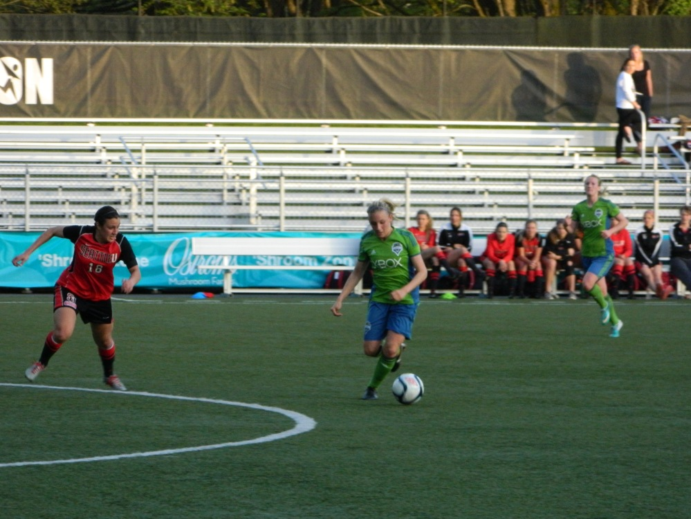 Sounders Women vs Seattle University