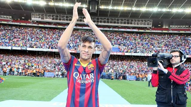 Y llegó Neymar al FC Barcelona