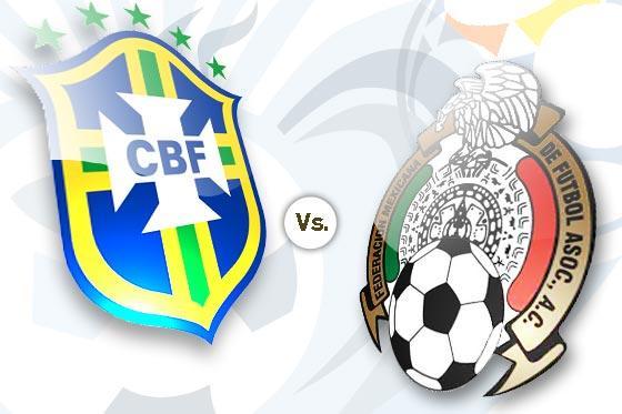 México enfrenta a Brasil en la Copa Confederaciones