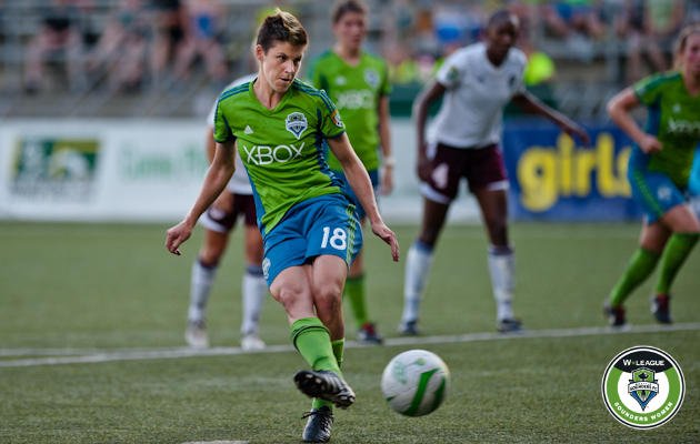 Las Sounders Women caen ante el Colorado Rush