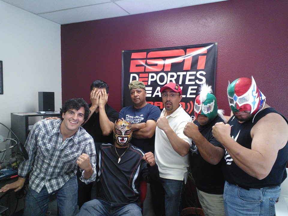 Lucha Libre Volcánica en Latinfut Radio Show!
