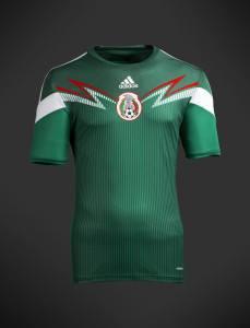 La nueva playera de México 2013-2014 (edición repechaje)