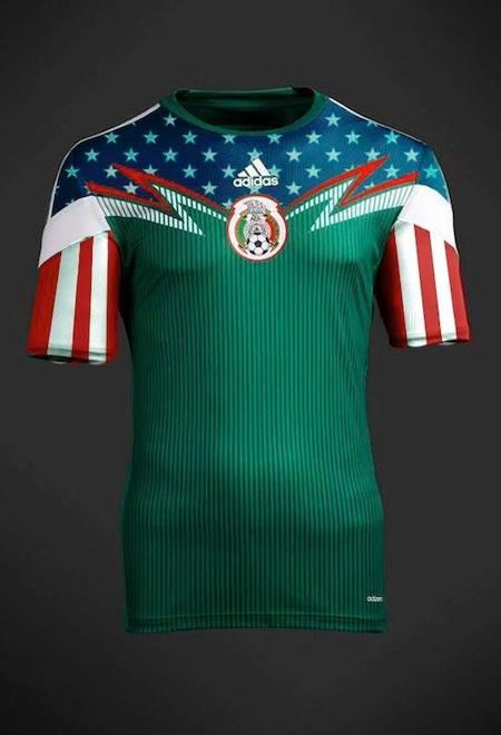 La playera que usará México vs Nueva Zelanda