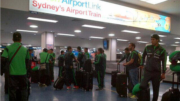 El Tri ya está en Sydney