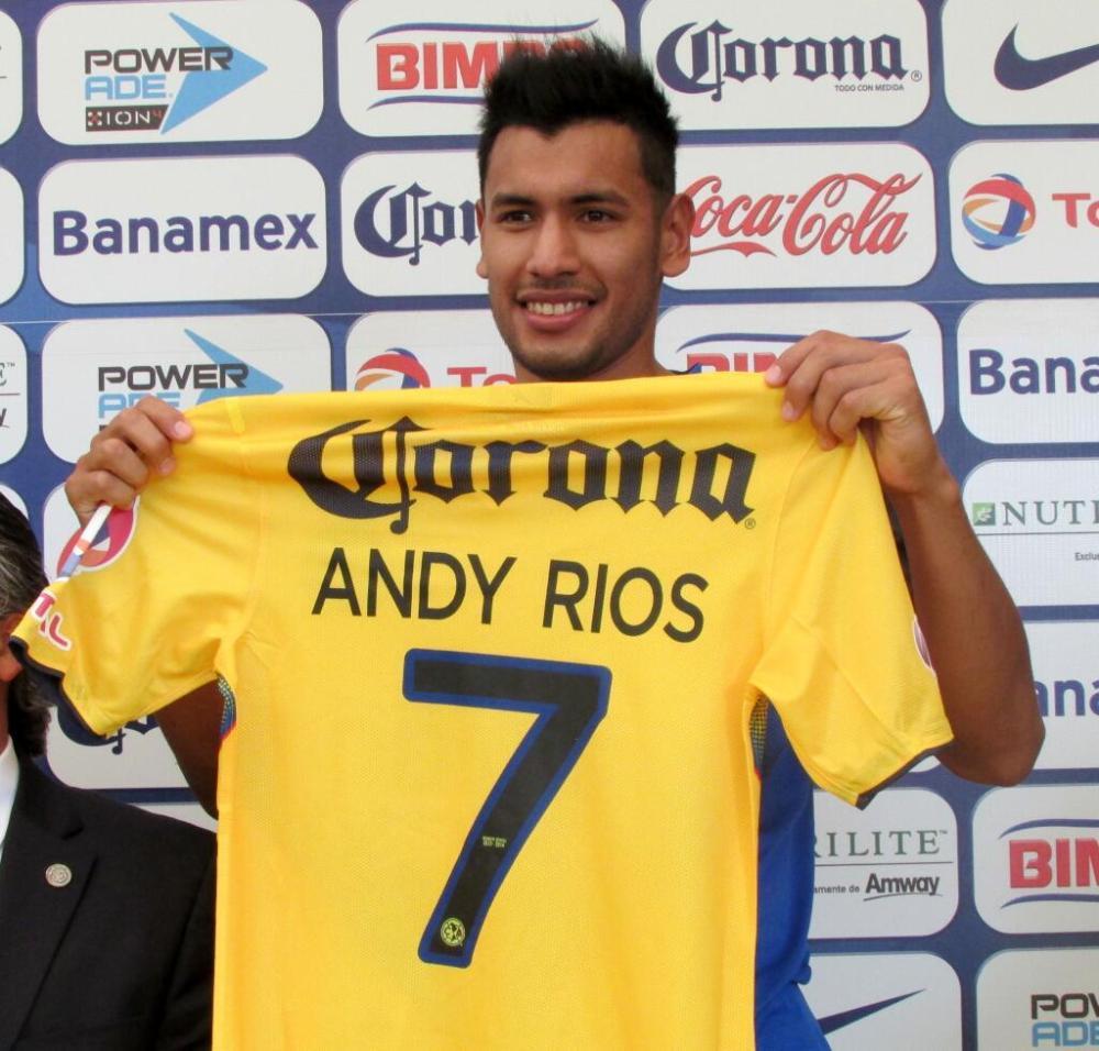 Se presenta Andy Ríos con el América